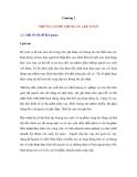 Chương I - NHỮNG VẤN ĐỀ CHUNG VỀ KẾ TOÁN