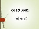 Cơ sở logic - Mệnh đề