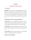 Bài giảng  - Chương III - TÀI KHOẢN VÀ KẾ TOÁN KÉP