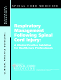 Respiratory Management Following Spinal Cord Injury: A Clinical Practice Guideline for Health-Care Professionals