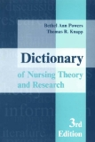 Dictionary of Nursing Theory and Research 3rd Edition