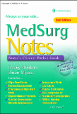Medsurg Notes Nurses Clinical Pocket Guide, 2ND EDITION