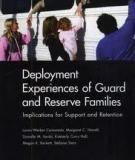 Deployment Experiences of Guard and Reserve Families - Implications for Support and Retention