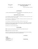 Quyết định số 1151/QĐ-BXD