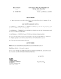 Quyết định số  1150/QĐ-BXD