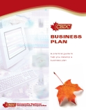 BUSINESS PLAN: A practical guide to  help you develop a  business plan