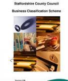 Business classification scheme design
