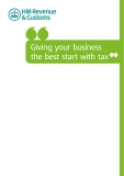 Giving your business  the best start with tax