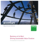 Business at its Best:   Driving Sustainable Value Creation