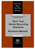Start Your  Waste Recycling   Business: Business Manual
