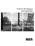 LCRA FY 2013 Business and Capital Plans