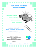 How to Do Business with Caltrans