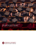 Graduate School of BuSineSS adminiStration 2012-2013 Academic Bulletin