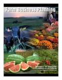 University of Maryland Cooperative Extension: Farm Business Planning