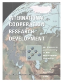 International Cooperation in Research and Development