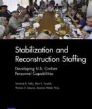 Stabilization and Reconstruction Staffing