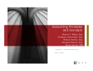 Accounting Principles and Concepts