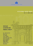 OCCASIONAL PAPER SERIES NO. 1 3 / APRIL 2004: FAIR VALUE ACCOUNTING AND FINANCIAL STABILITY