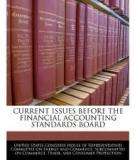 CURRENT ISSUES BEFORE THE FINANCIAL ACCOUNTING STANDARDS BOARD