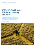 IFRS, US GAAP, and US tax accounting methods*