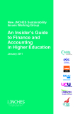New Jnches Sustainability Issues Working Group An Insider's Guide to Finance and Accounting in Higher Education