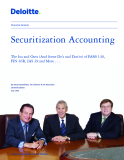 Securitization Accounting: The Ins and Outs (And Some Do's and Don'ts) of FASB 140, FIN 46R, IAS 39 and More . . .