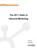 The 2011 State of Inbound Marketing