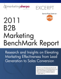 2011 B2B Marketing BenchMark Report
