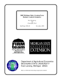 2005 Michigan Dairy Grazing Farm Business Analysis Summary