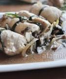 Đổi món với gà cuộn nấm