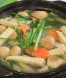 Bò cuộn rau củ đủ chất cho ngày Tết