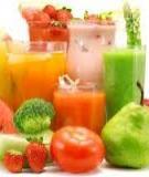 Những loại thực phẩm giải độc cho cơ thể