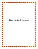 Thạch vải dâu tây thơm má