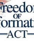 Freedom and Information