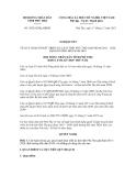 Nghị quyết số 30/2012/NQ-HĐND
