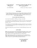 Quyết định số 2108/QĐ-UBND
