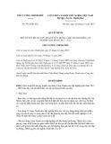 Quyết định số 1912/QĐ-TTgCỘNG HÒA XÃ HỘI CHỦ NGHĨA VIỆT NAM Độc lập - Tự do - Hạnh phúc ---------------Hà Nội, ngày 20 tháng 12 năm 2012QUYẾT ĐỊNH PHÊ DUYỆT ĐỀ ÁN QUY HOẠCH XÂY DỰNG LÀNG THANH NIÊN LẬP NGHIỆP GIAI ĐOẠN 2013 - 2020 THỦ