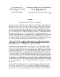 Chỉ thị số 26/2012/CT-UBND