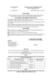 Quyết định số 330/QĐ-UBDT