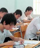 Đề thi thử Đại học môn tiếng Anh năm 2013 khối D (Mã đề 423)