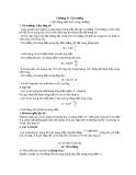 Chuyên đề ôn Lý: Chương IV. Từ trường