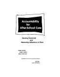 Accountability for After-School Care