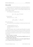 Luận văn: Một dạng bất đẳng thức xoay vòng phân thức