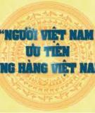 Tiểu luận:Nâng cao chất lượng sản phẩm Việt