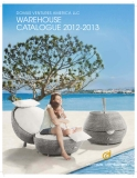 DOMUS VENTURES AMERICA LLC WAREHOUSE  CATALOGUE 2012-2013