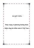 LUẬN VĂN:Thực trạng và phương hướng hoàn thiện công tác kiểm toán ở Việt Nam.Lời nói đầu Liền với Nghi định 70/CP (11/07/1994) đã đánh dấu sự xuất hiện của kiểm toán ở Việt Nam trong thời kỳ nền kinh tế chuyển đổi. Sự xuất hiện của kiểm toán là một đò