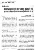 Báo cáo khoa học: Bước đầu hiện đại hóa chữ quốc ngữ qua một số truyện ngắn Nam Bộ đầu thế kỷ 20