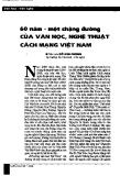 Báo cáo khoa học:  60 năm-một chặng đường của văn học, nghệ thuật cách mạng Việt Nam