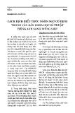 Báo cáo khoa học: Cách dịch biểu thức ngôn ngữ cố định trong văn bản khoa học kỹ thuật tiếng Anh sang tiếng Việt
