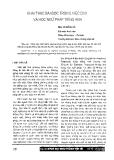 Báo cáo khoa học: Khai thác bài đọc trong việc dạy và học ngữ pháp tiếng Anh